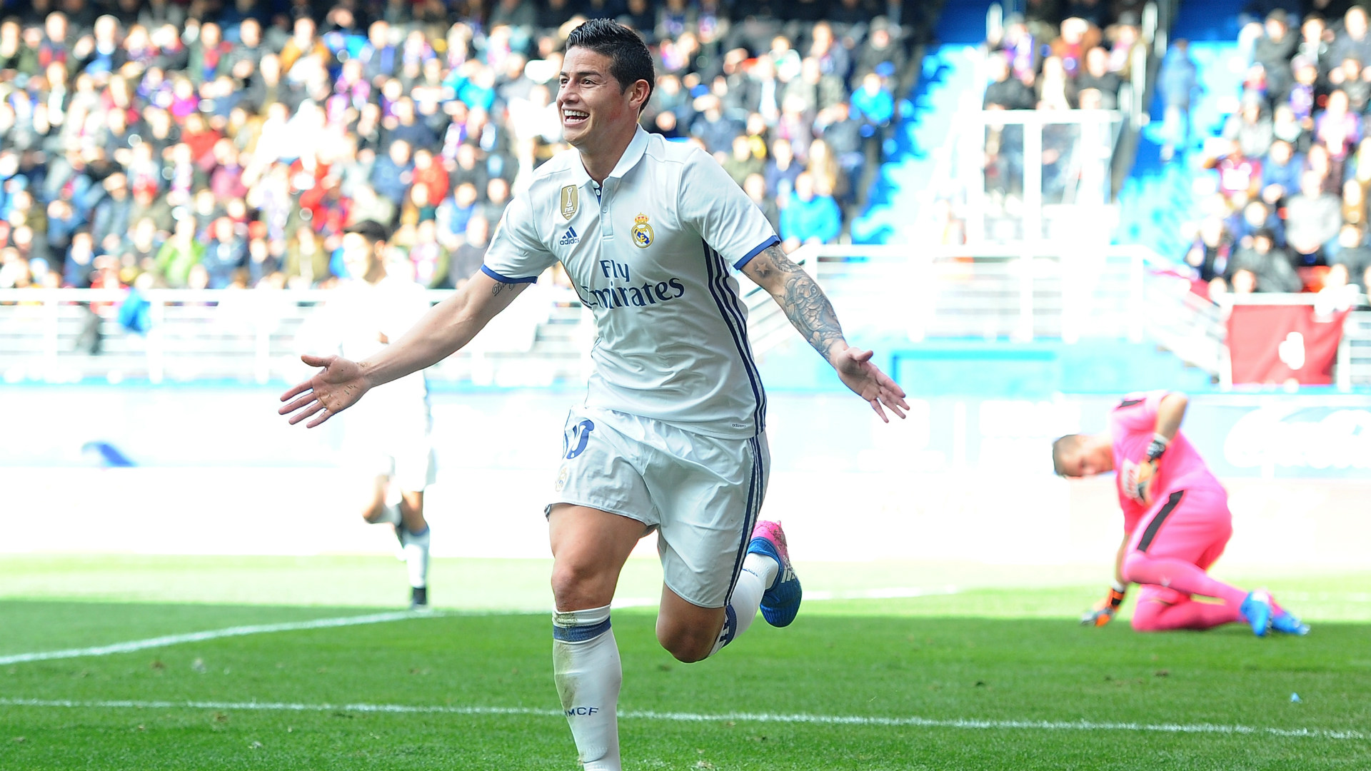 James Rodriguez Eibar Real Madrid LaLiga 04032017