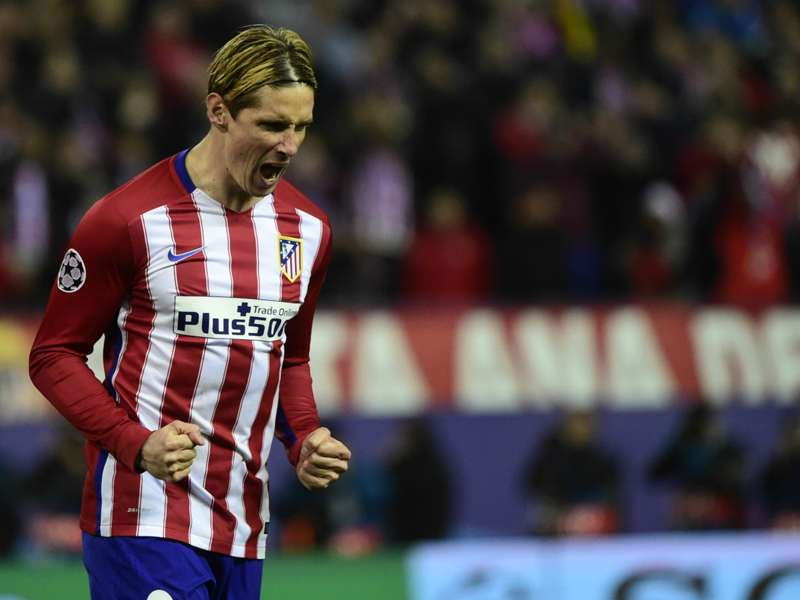 Image result for spanish la liga champions fernando torres