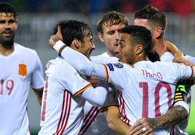 Tây Ban Nha vs Albania