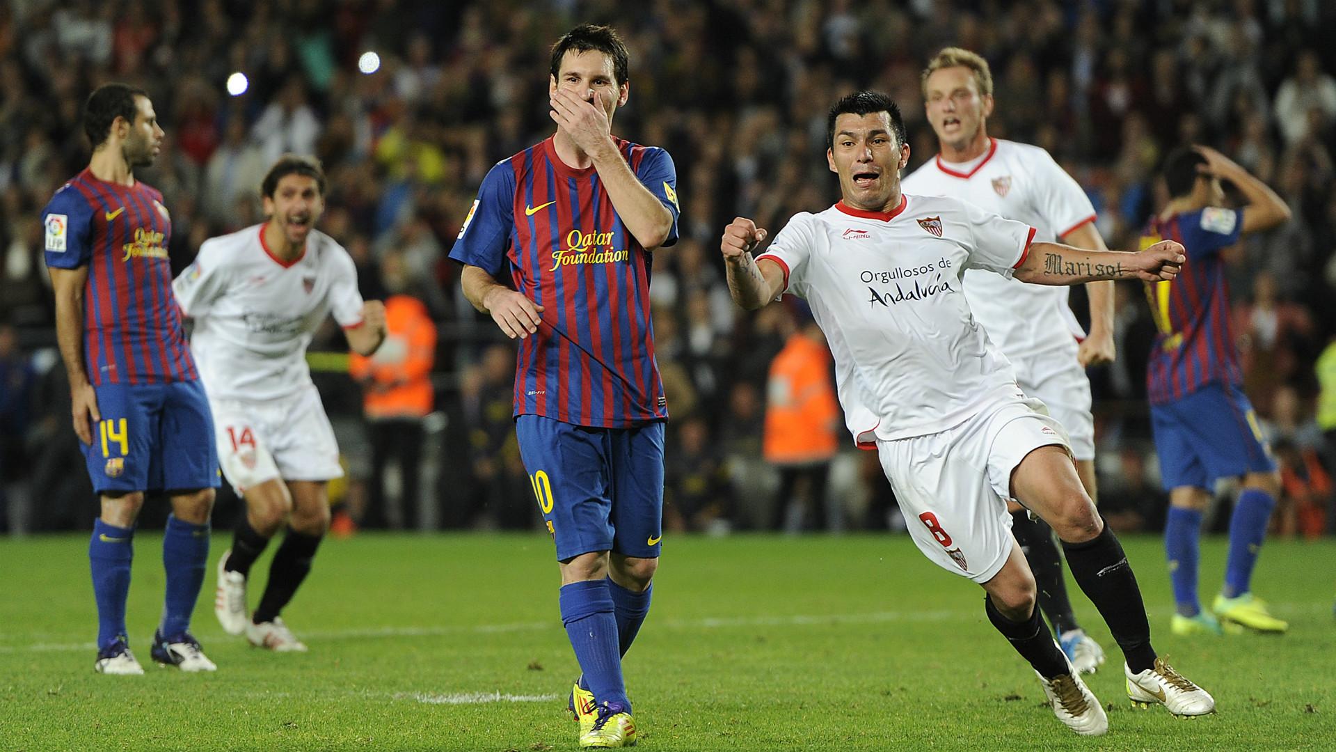 Lionel Messi Barcelona Sevilla 221011 - Goal.com