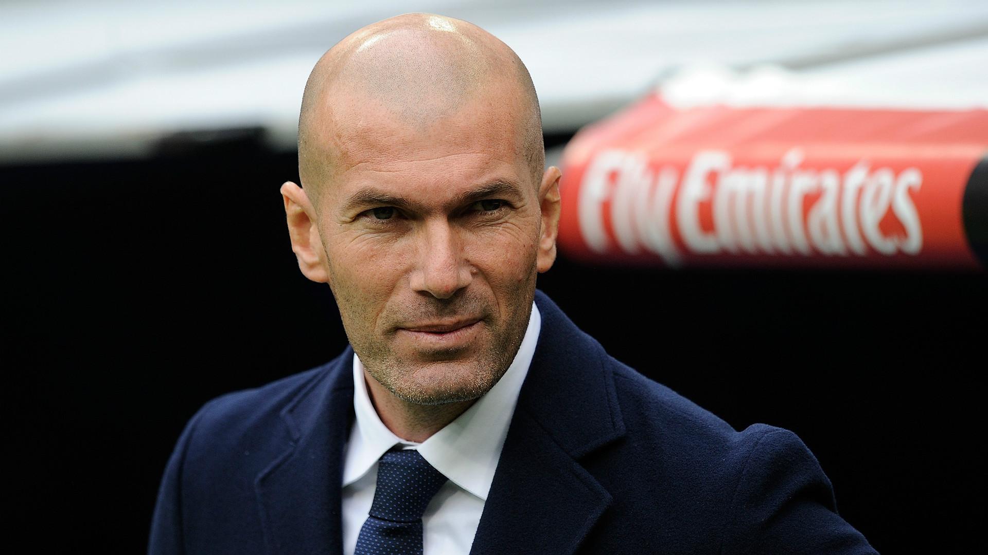 Zinedine Zidane Real Madrid Sporting Gijon La Liga 17012016 - Goal.com