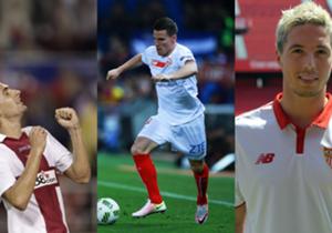 El Sevilla se mide este martes al Olympique de Lyon en la UEFA Champions League y en Goal repasamos los mejores fichajes que han llegado a Nervión desde Francia