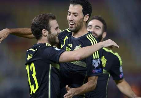Eliminatorias: Macedonia 0-1 España