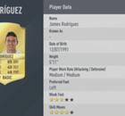 Mejores colombianos en el FIFA 17