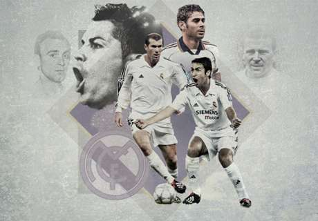 Los 20 mejores de la historia del Madrid