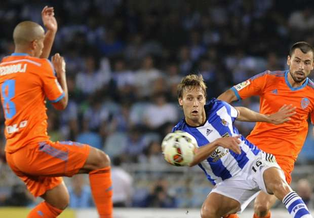 Real Sociedad 1-1 Valencia: Canales denies old club top spot