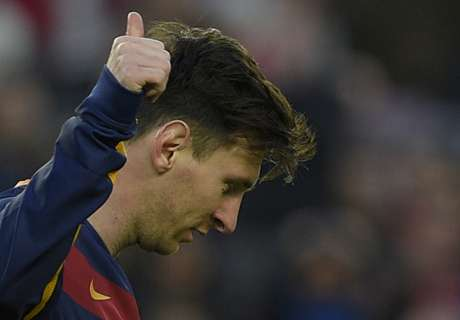 Messi left out of Barcelona squad