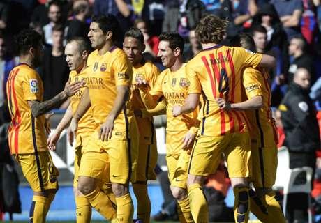 Levante-Barça 0-2, résumé du match
