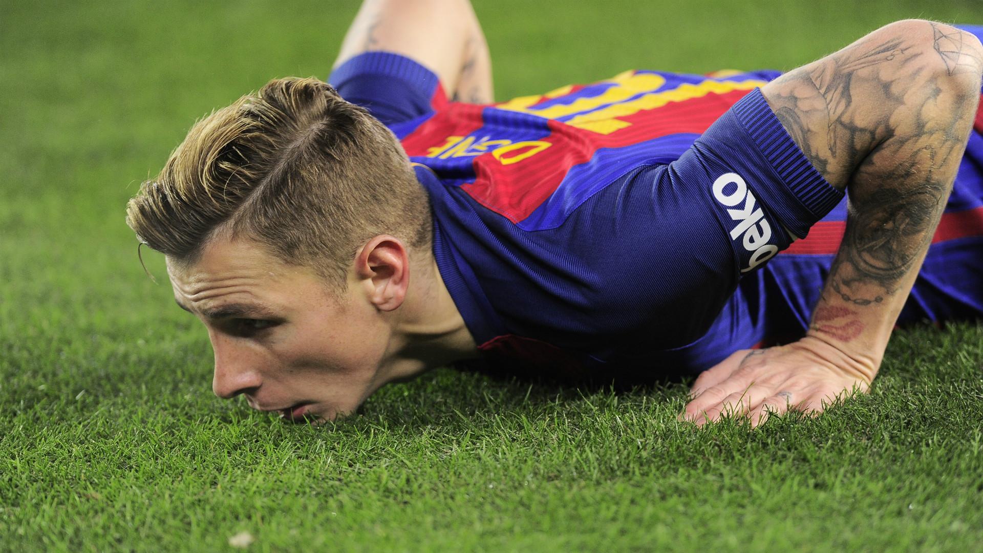 Lucas Digne Real Sociedad Barcelona Copa del Rey