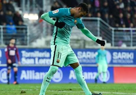 Cortó la sequía y alcanzó a Ronaldinho