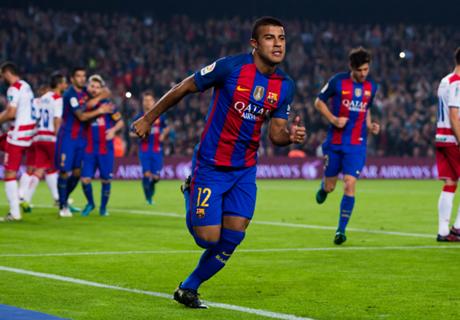Barcelona down Granada in tight win