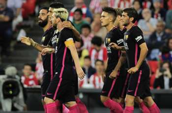 Athletic 0-1 Barcelona: Rakitic heads Catalans to second Liga win