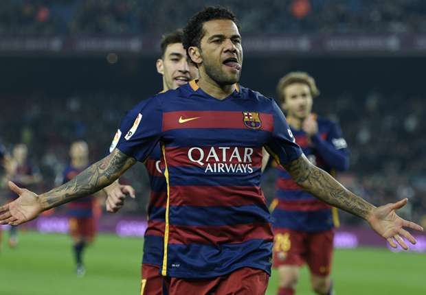 Dani Alves happy to win ugly against Arsenal