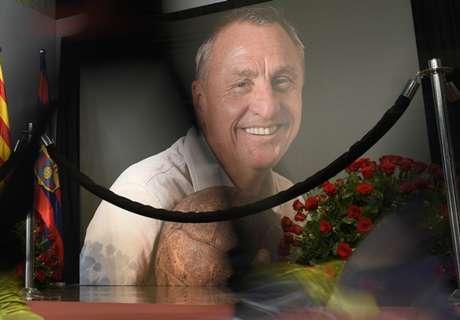 Homenaje de los Laureus a Cruyff