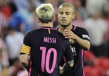 Rafinha, de Rakitic a Messi