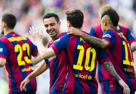 Le Barça finit en roue libre