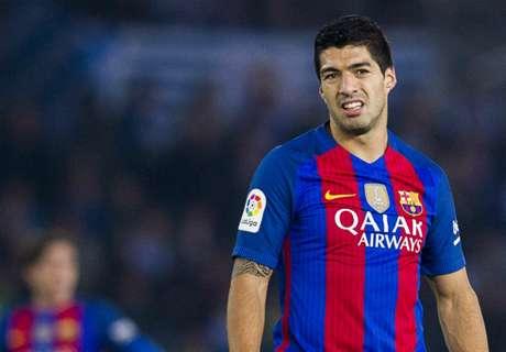 Suarez: Barcelona Dihukum
