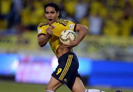 Falcao & Ramos treffen für Kolumbien