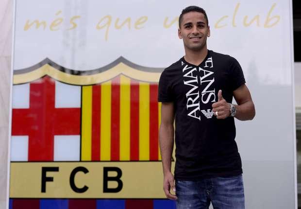 Douglas fue el más impresionado por su fichaje por el Barcelona