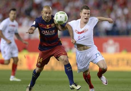 Mascherano renovó con el Barça