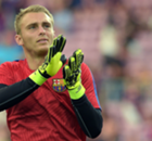 Cillessen unhappy on Barca's bench