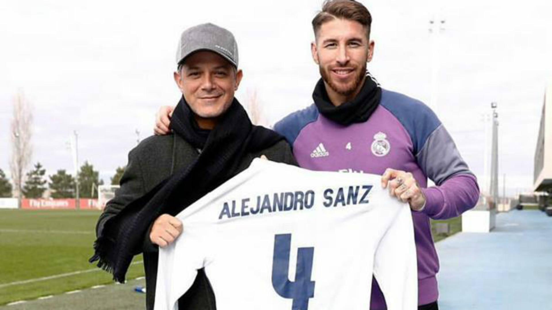 Alejandro Sanz Sergio Ramos