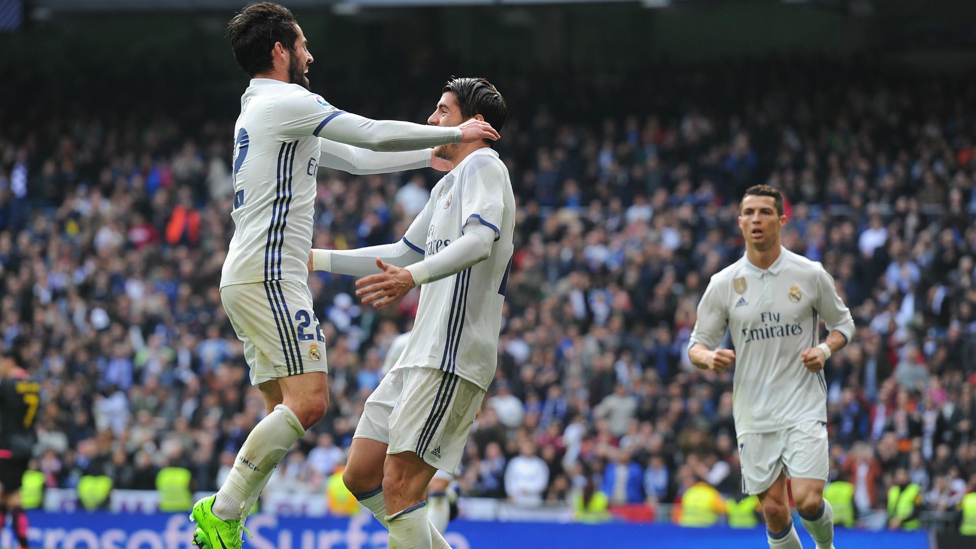 Alvaro Morata Isco Alarcon Real Madrid Espanyol LaLiga
