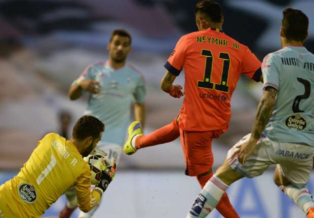 Celta 0-1 Barcelona: Mathieu moves Catalans four points clear
