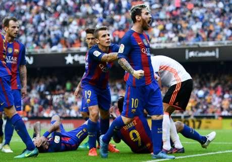 La bronca de Messi