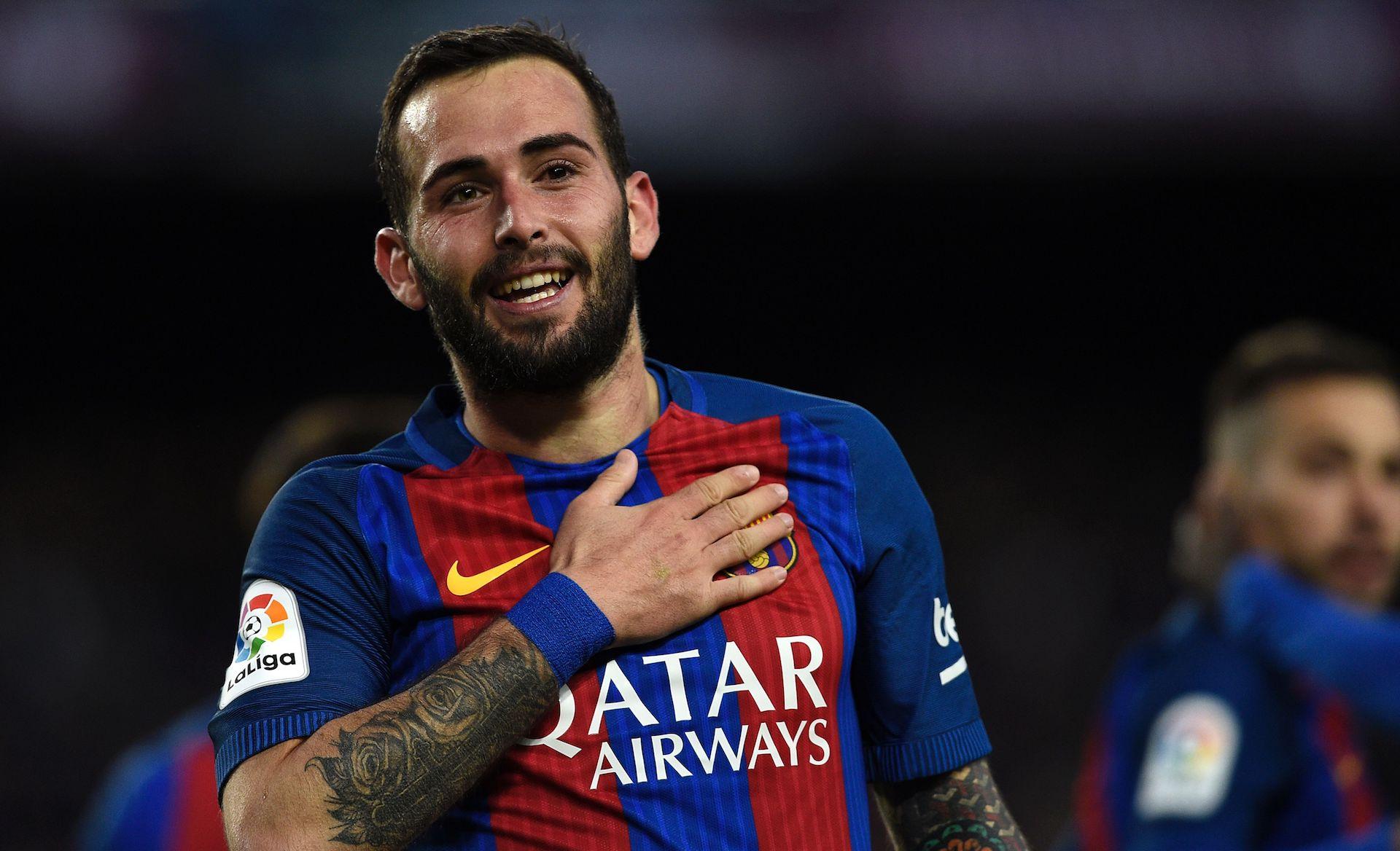 Aleix Vidal FC Barcelona