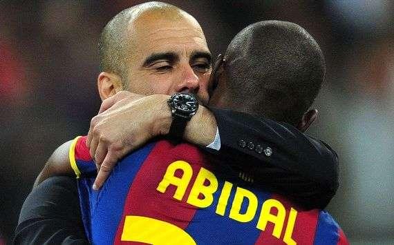 Barcelona similar to Pep's team, says Abidal