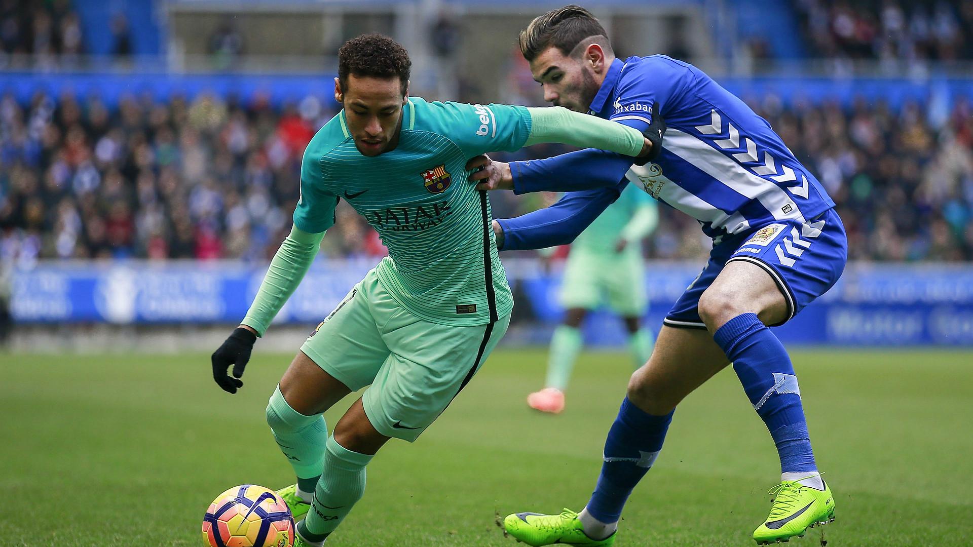 Neymar Theo Hernandez Alaves Barcelona LaLiga 11020217