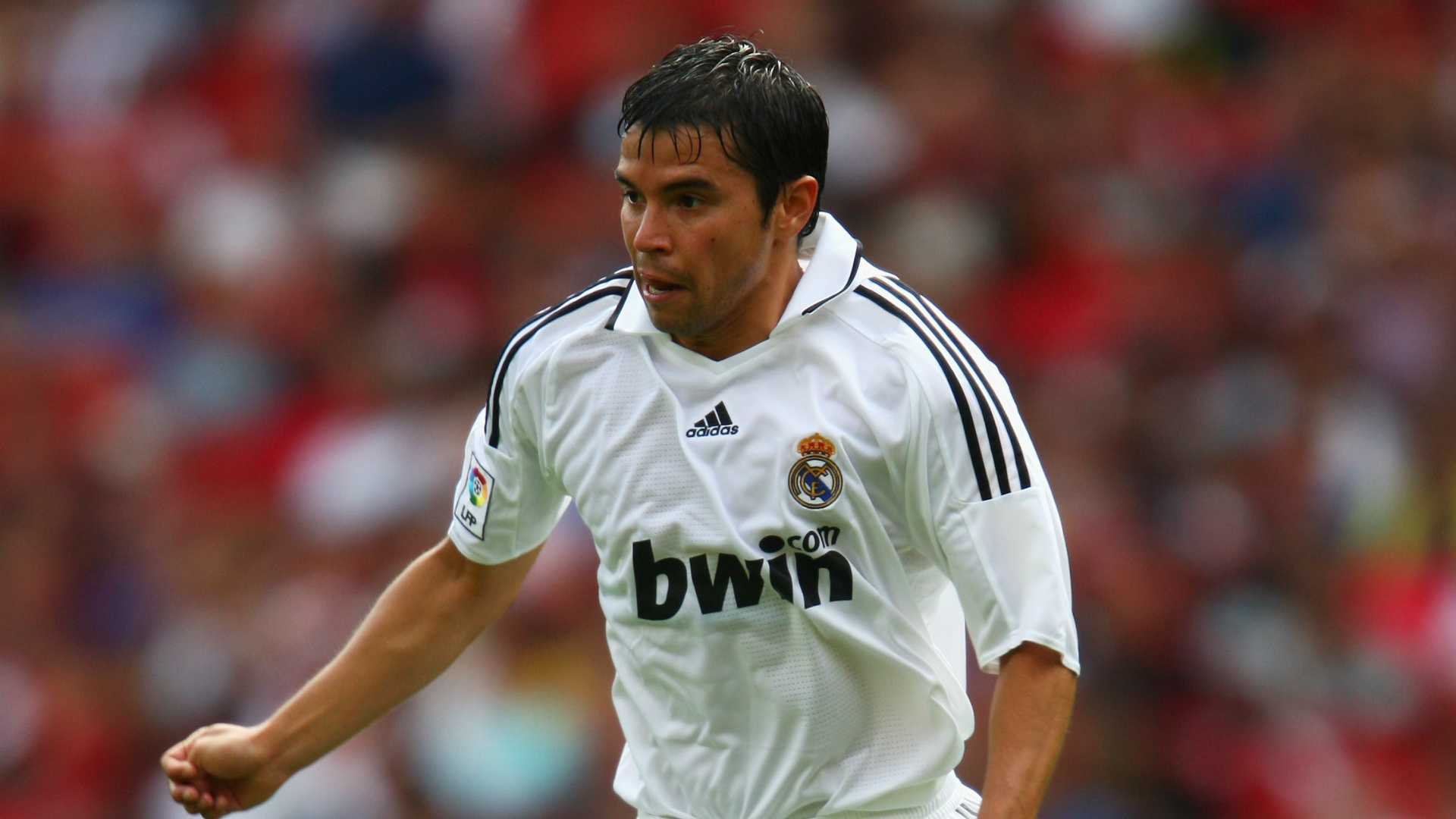 Javier Saviola ex Real Madrid player