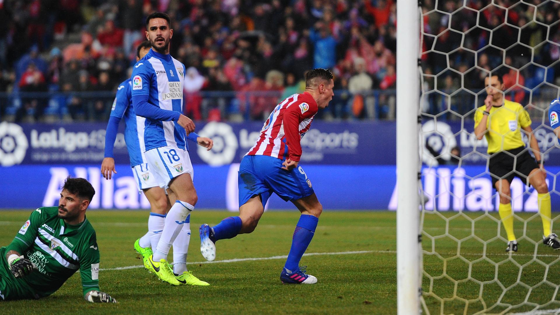 Fernando Torres Atletico Madrid Leganes La Liga