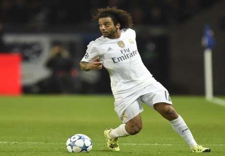 Real Madrid, Marcelo blessé