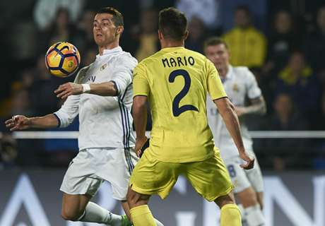 La Liga: Villarreal 2 x 3 Real Madrid