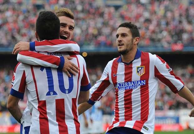 Atletico jubelt gegen die Andalusier aus Malaga