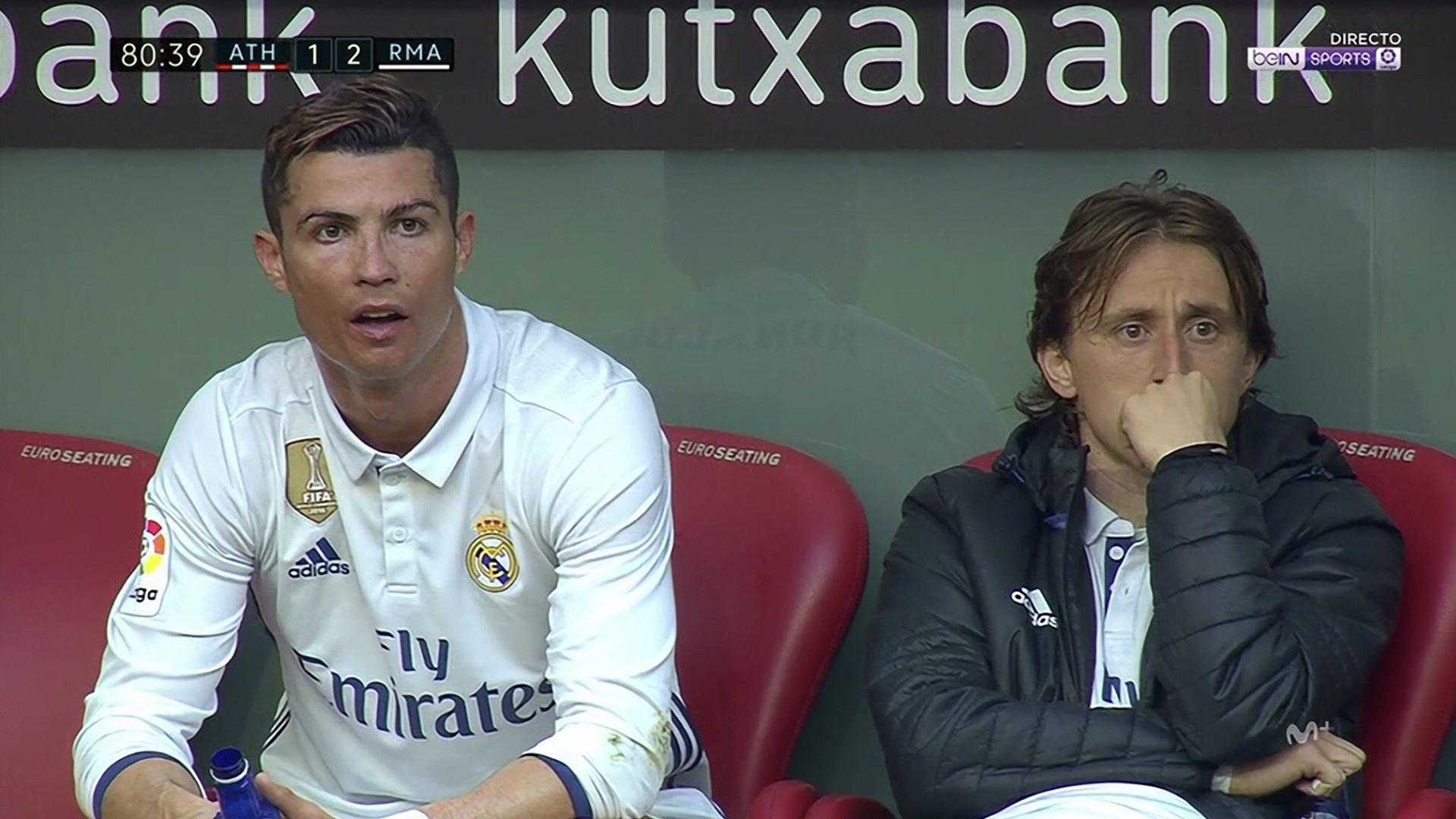 Cristiano Ronaldo Luka Modric Real Madrid Athletic LaLiga18032017