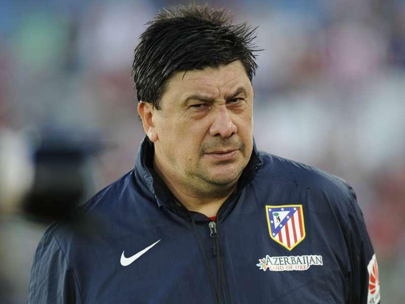 Atleticos Co-Trainer Burgos: Zwischen Freund & Provokateur ...