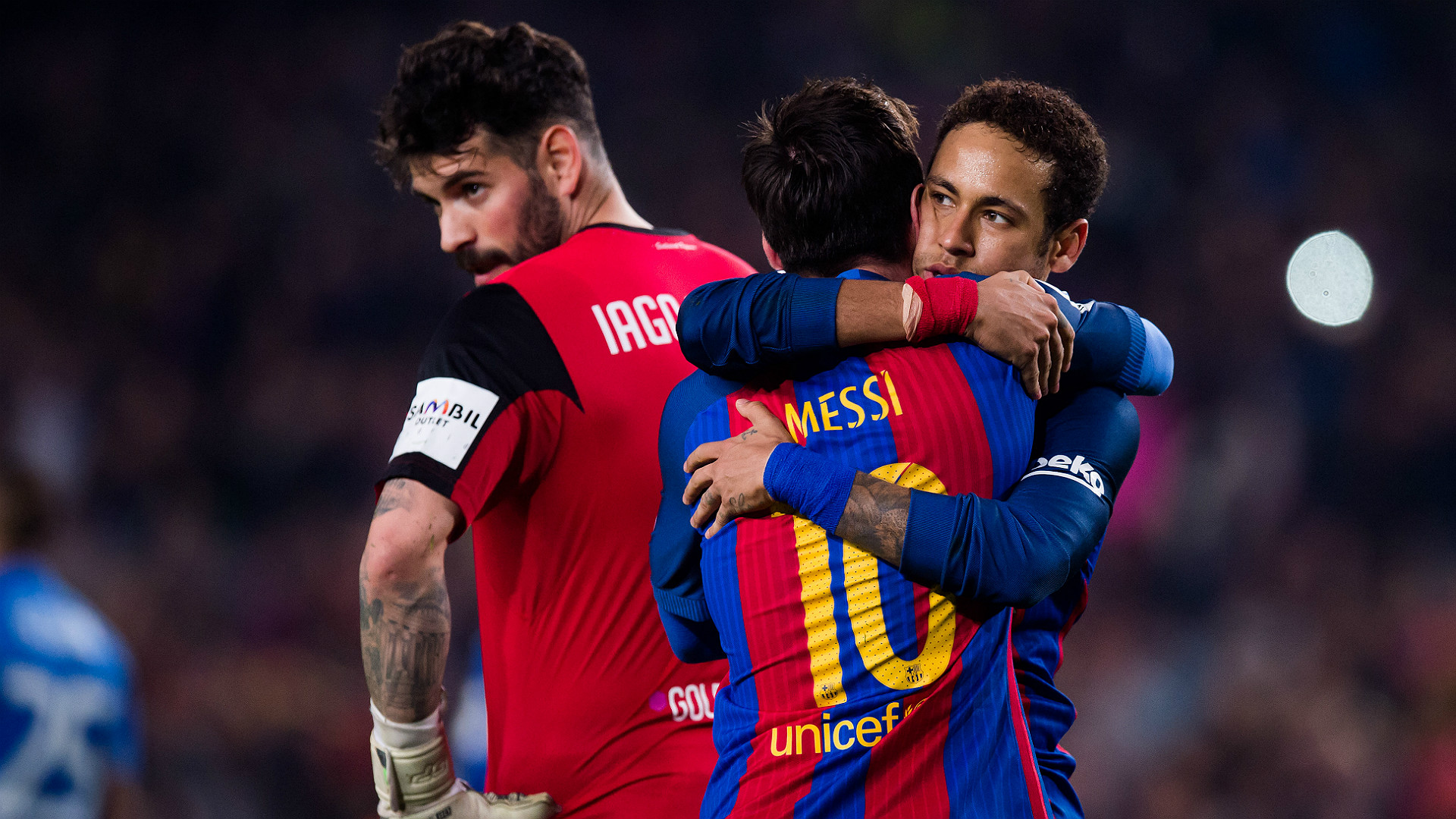 neymar and messi relationship goals