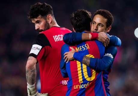 Luis Enrique on Messi 'celebration'