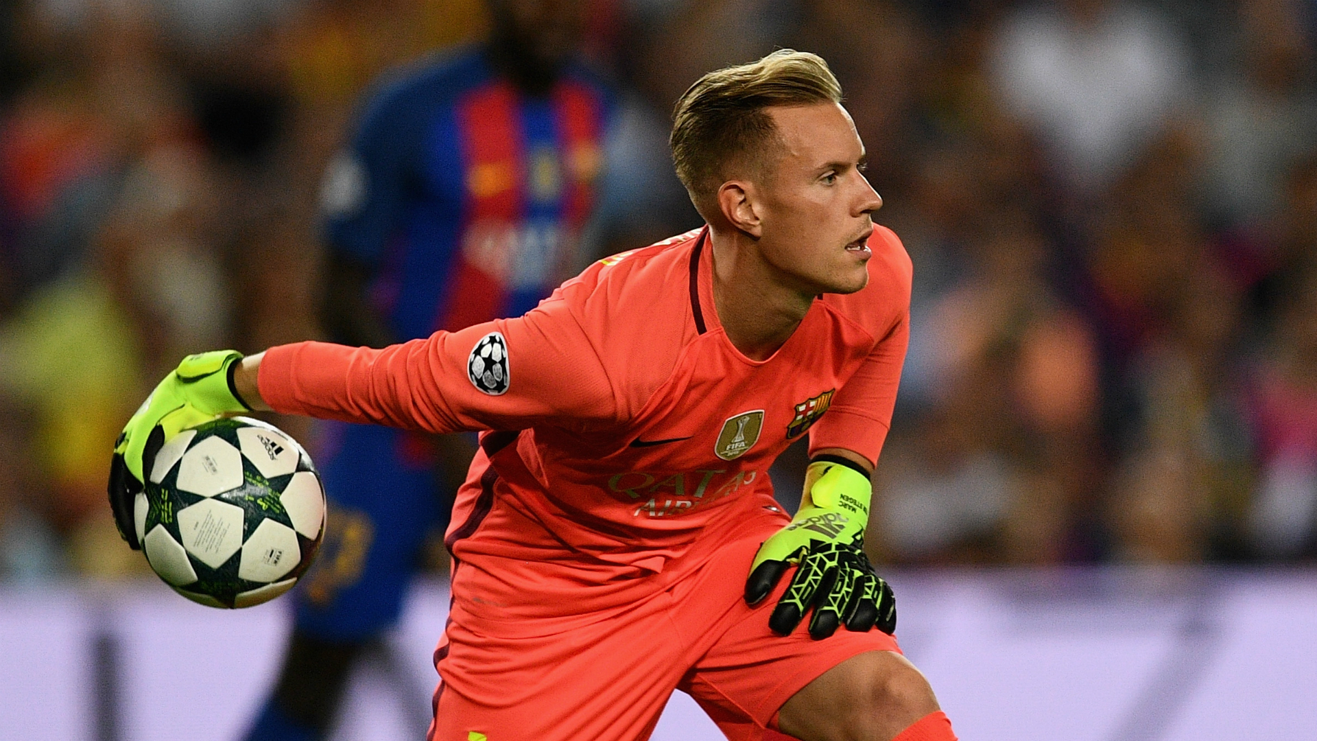 Marc Andre Ter Stegen Barcelona Celtic Champions League