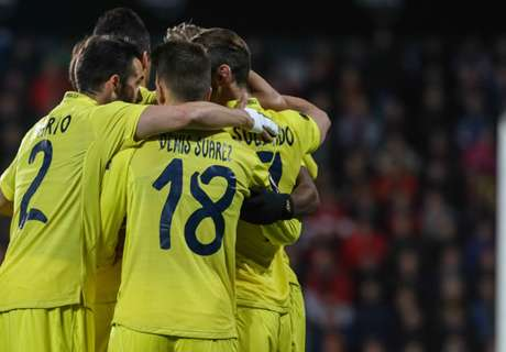 UEL: Sparta 2-4 Villarreal