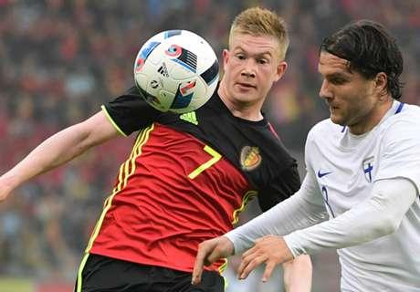 Amistoso: Bélgica 1-1 Finlandia