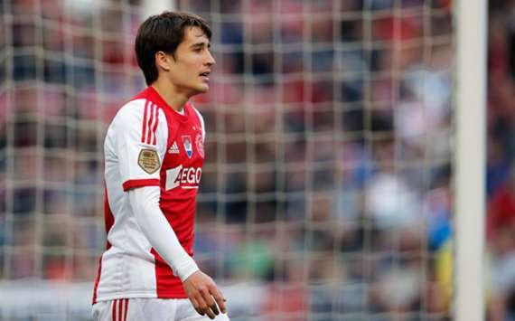 Barcelona winger Bojan Krkic