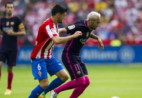 Ratings: Sporting Gijon 0-5 Barcelona
