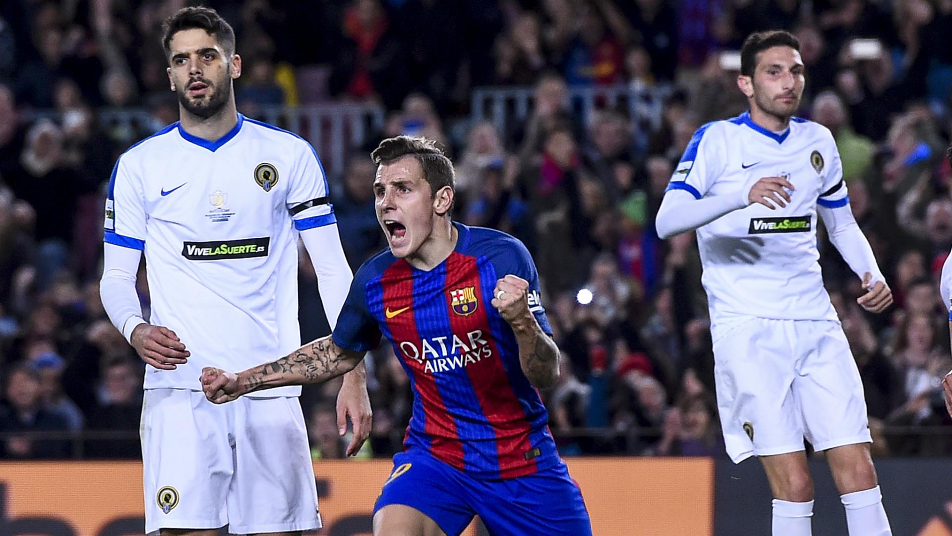 Copa del Rey round-up: Barcelona hit seven past third-tier Hercules