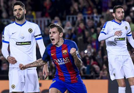 Barca avoid Copa upset with win