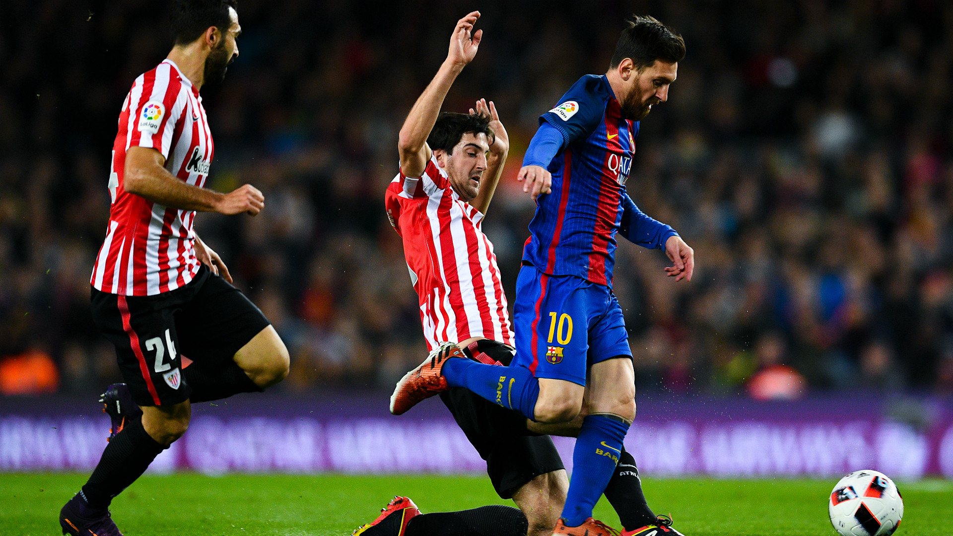 Suarez messi shows he is the best every game goal - Barcelona san jose ...