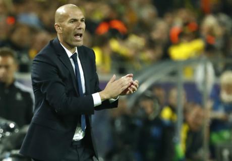 A Zidane sólo le queda un rival por vencer